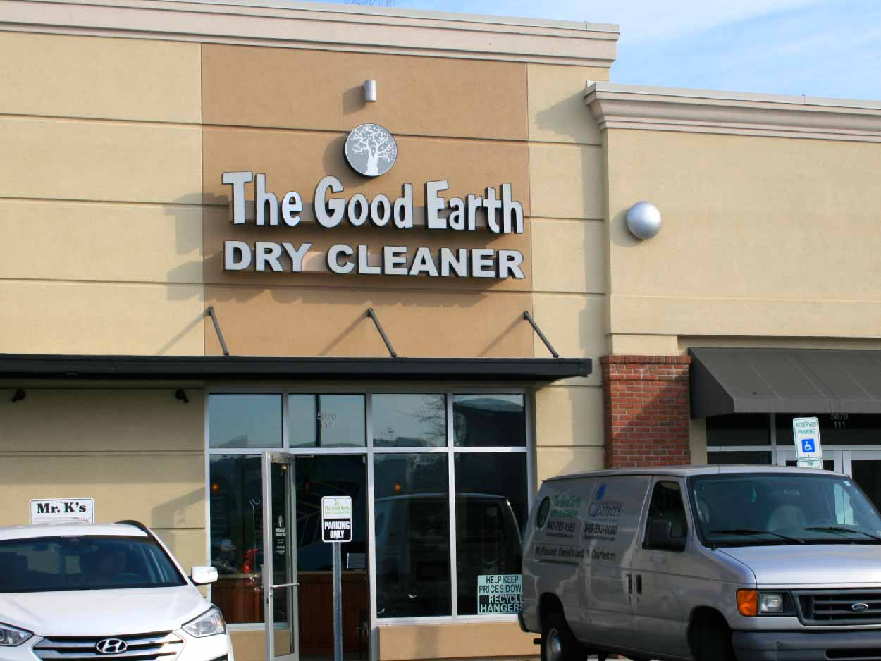 The Good Earth Dry Cleaner